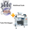 8Liter 2head Lane Weigher Tranches de fruits machine à emballer automatique
